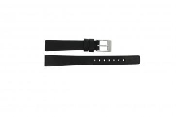 Diesel Uhrenarmband DZ-2074 Leder Schwarz 14mm