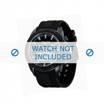 Police Uhrenarmband P-12076J/JSB/02 Kunststoff Schwarz