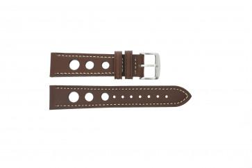 Klockarmband Universell 682R.02 Läder Brun 20mm