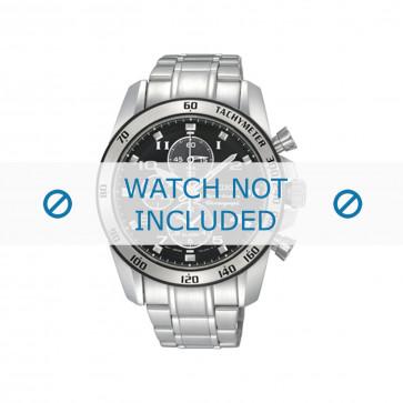 Seiko Uhrenarmband SNAE61P1 / 7T62-0KV0 02B / 7D48-0AK0 / M0ND111J0 Metall Silber 21mm