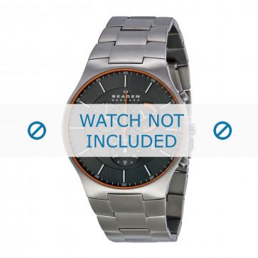 Uhrenarmband Skagen SKW6076 Titan Stahl 25mm