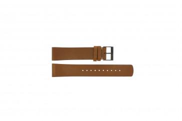 Skagen Uhrenarmband SKW6216 Leder Braun 20mm