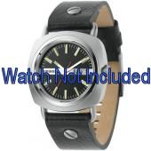 Uhrenarmband Diesel DZ2129 Leder Schwarz 22mm