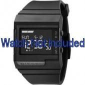 Diesel Uhrenarmband DZ7150 Silikon Schwarz 23mm