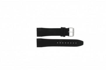 Uhrenarmband Tommy Hilfiger 679301403 / TH1790833 / TH-175-1-14-1202 / 1403 Leder Schwarz 24mm