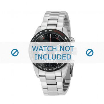 Breil Uhrenarmband TW0677 Stahl Silber 19mm