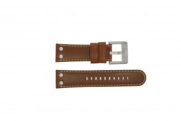 TW Steel Uhrenarmband TWB69 Leder Braun 24mm + standardnähte