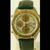 Uhrenarmband Seiko 7T42 6A0B / SDX014J1 Leder Schwarz 20mm