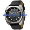 Uhrenarmband Diesel DZ1247 Leder Schwarz 26mm
