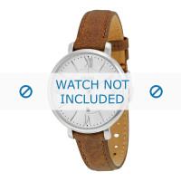 Uhrenarmband Fossil ES3708 Leder Braun 14mm