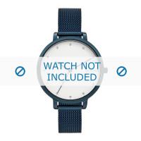 Skagen Uhrenarmband SKW2579 Metall Blau 12mm