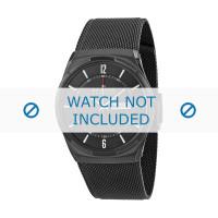 Uhrenarmband Skagen SKW6006 / 11XXXX Milanese Schwarz 28mm