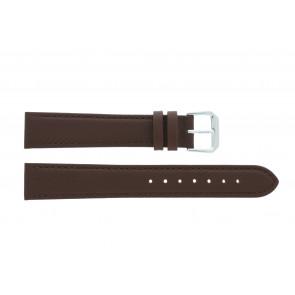 Uhrenarmband Universal 054L.02 XL Leder Braun 18mm