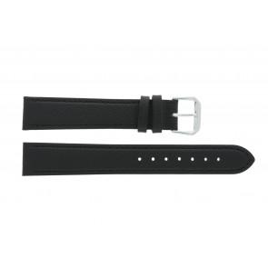 Uhrenarmband Condor 054R.01 / 607R.01 Leder Schwarz 22mm