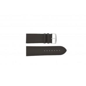 Uhrenarmband Universal 306.02 Leder Braun 26mm