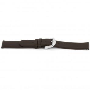 Uhrenarmband Universal D300 Weiches Leder Braun 14mm