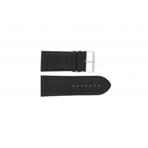 Uhrenarmband Universal 305R.01 Leder Schwarz 30mm