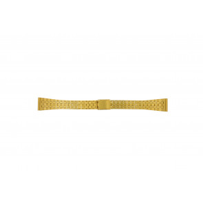 Uhrenarmband Universal 42522.5.16 Stahl Vergoldet 16mm