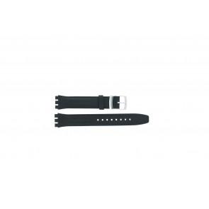 Uhrenarmband Swatch (alt.) 51643.06.17.C Leder Blau 17mm