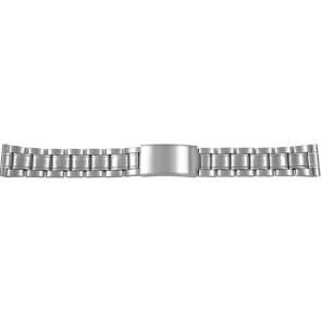 Uhrenarmband CMA54-18 Metall Silber 18mm