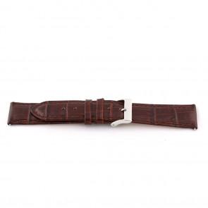 Uhrenarmband D341 Leder Braun 14mm + braunen nähte