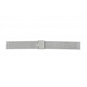 Uhrenarmband WoW E-ST-ZIL-20 Stahl Stahl 20mm