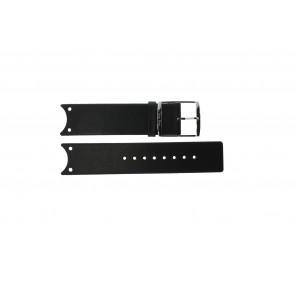 Calvin Klein Uhrenarmband K0V23107 / K600.000.036 Leder Schwarz