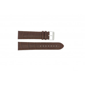 Uhrenarmband 305.02.12 XL  Leder Braun 12mm + braunen nähte