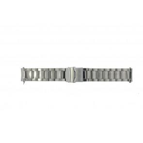 Uhrenarmband Universal QQ22RHSHI Stahl 22mm