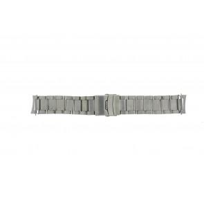 Uhrenarmband QQ22RHZIL Metall Silber 22mm