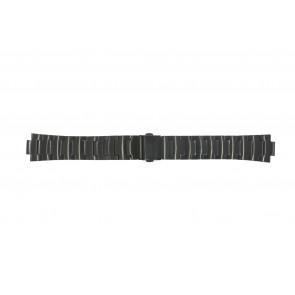Uhrenarmband Obaku V140-Z Stahl Schwarz 10mm