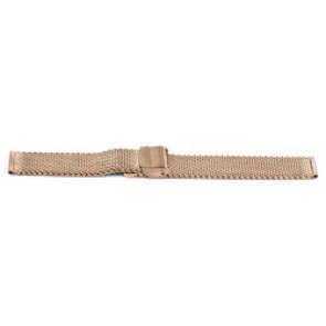 Uhrenarmband Universal YF101 Stahl Rosé 18mm