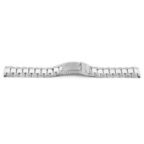 Uhrenarmband YH09 Metall Silber 22mm