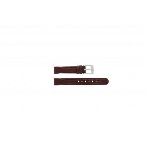 Uhrenarmband Camel 4000-4009 / BC50918 Leder Rot 14mm
