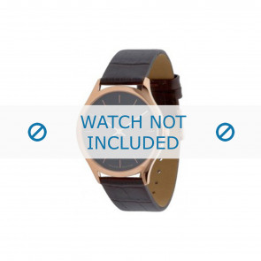 Calvin Klein Uhrenarmband K26215 Leder Braun 19mm