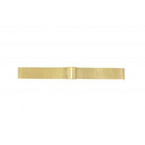 Uhrenarmband Universal 18.1.5-ST-DB Milanese Vergoldet 18mm