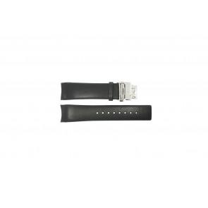 Calvin Klein Uhrenarmband K1V278 Leder Schwarz 22mm