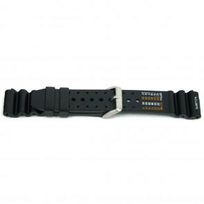Uhrenarmband XF13 / Citizen Kunststoff Schwarz 18mm